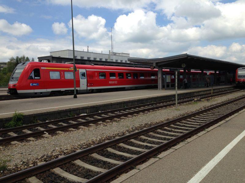 Bahnhof Kempten - Überblick über alle Bahnhöfe in Kempten